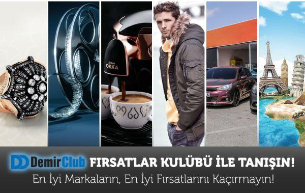 """DemirClub Ayrıcalıkları """"Fırsatlar Kulübü"""" ile Genişliyor"""