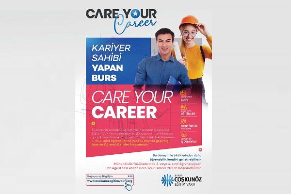 Coşkunöz Eğitim Vakfı'ndan Burs Fırsatı: Care Your Career