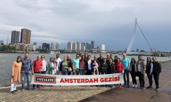 Totaline Müşterileriyle Birlikte Unutulmaz Bir Hollanda Turu Gerçekleştirdi