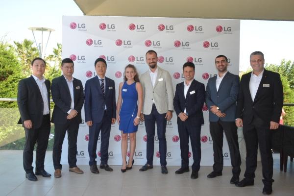 LG Türkiye, İklimlendirme ve Enerji Çözümlerini İş Ortaklarına Tanıttı
