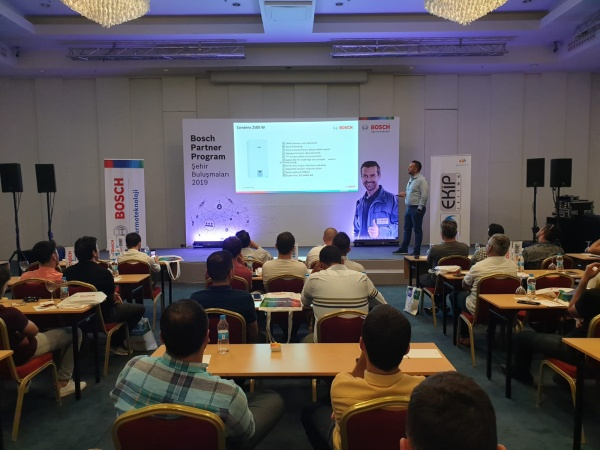 Bosch Termoteknoloji, Ankara'da Partner Program Üyeleri ile Buluştu