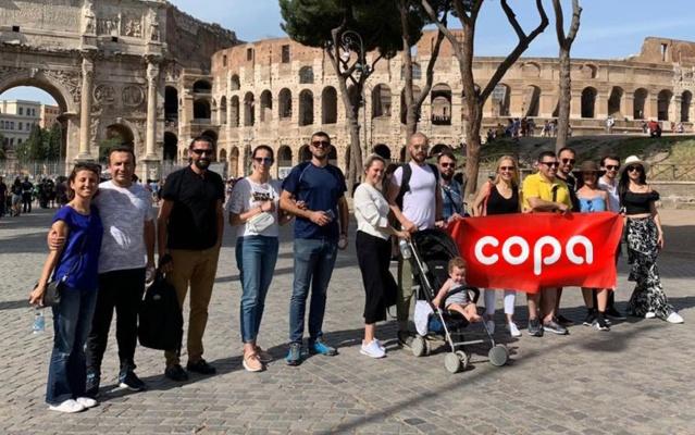 COPA'nın İş Ortakları İtalya ve Ukrayna'da Buluştu