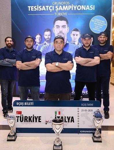 Grundfos Tesisatçı Şampiyonası'nın Türkiye Finalisti Adem Karakaya Oldu