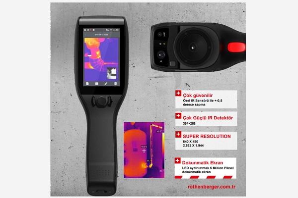 Rothenberger Profesyonel Yeni Nesil Termal Kamera Roscan 5000