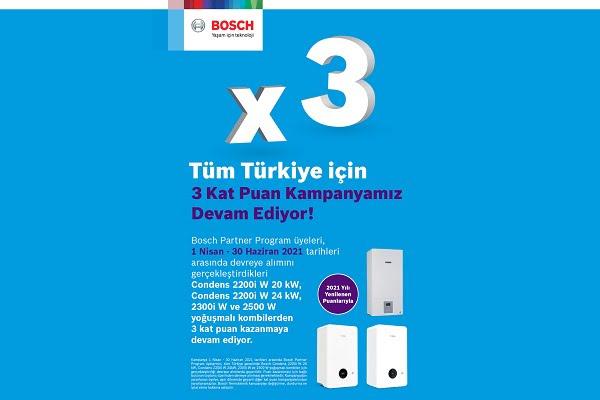 Bosch Partner Program'ın Kampanyasında Son Gün 30 Haziran