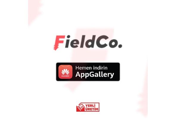 FieldCo. Teknik Servis Programı Huawei AppGallery'de