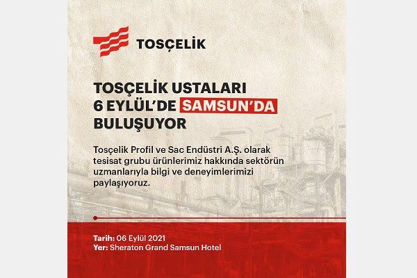 Tosçelik Ustaları Samsun, Trabzon ve Bursa'da Buluşuyor