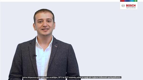 Bosch Termoteknoloji Sıkça Sorulan Sorular Video Serisine Altyazı Seçeneği Ekledi
