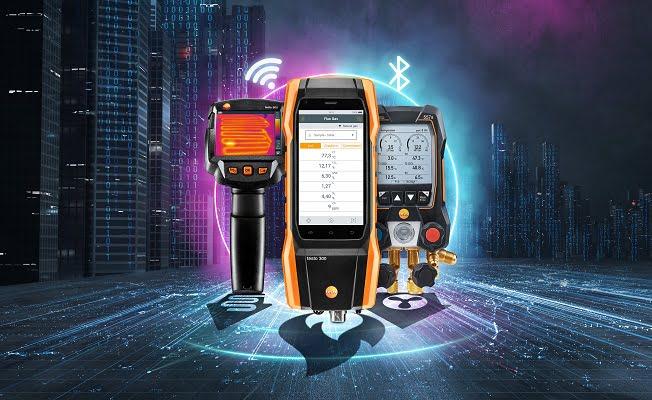 Isıtma Sistemleri ve Isı Pompaları için Testo Ölçüm Cihazları