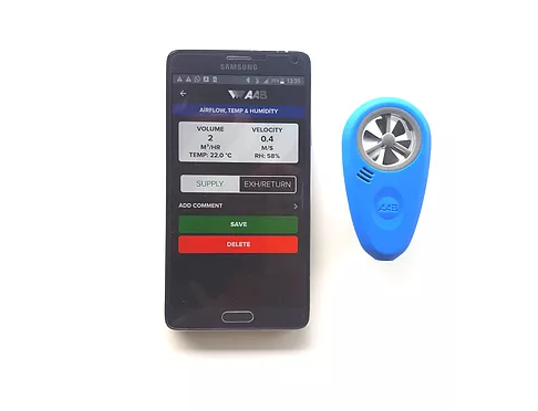 Vente'den ABM-200 Hava Hızı, Sıcaklık, Nem ve Barometrik Basıncı Ölçüm Cihazı