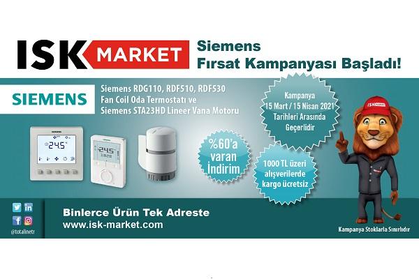 ISK Market'ten Siemens Fırsat Kampanyası