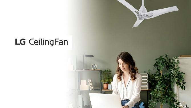 LG CeilingFan ile Doğal ve Yumuşak Serinlik