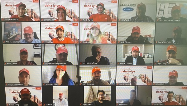 Danfoss İklimlendirme Çözümleri Soğutma İş Ortakları Toplantısı Düzenledi