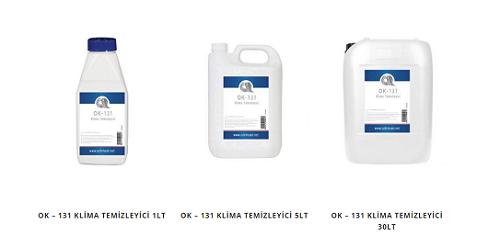 Özkimsan'dan Isıtma Soğutma Cihazlarının Temizliği: OK-131