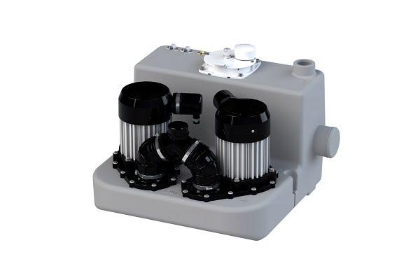 Çift Pompalı Pis Su Tahliye Cihazı SANICOM 2