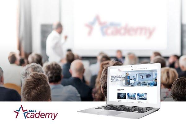 Mas Academy'nin Web Sitesi Yayında
