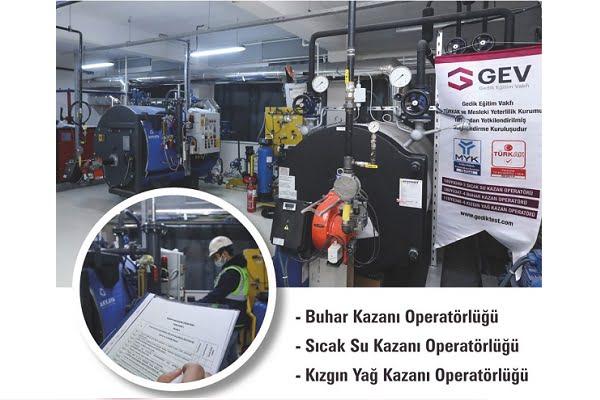 Kazan Operatörlüğü Eğitim ve Sınav Merkezi Açıldı